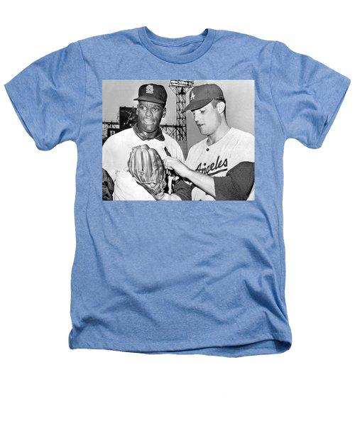 Pitcher Bob Gibson Heathers T-Shirt