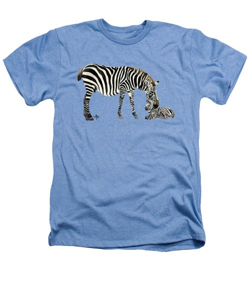 Plains Zebras Heathers T-Shirt