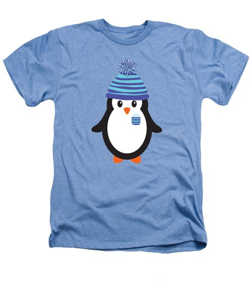 Pocket Snowflake The Penguin Heathers T-Shirt by Natalie Kinnear