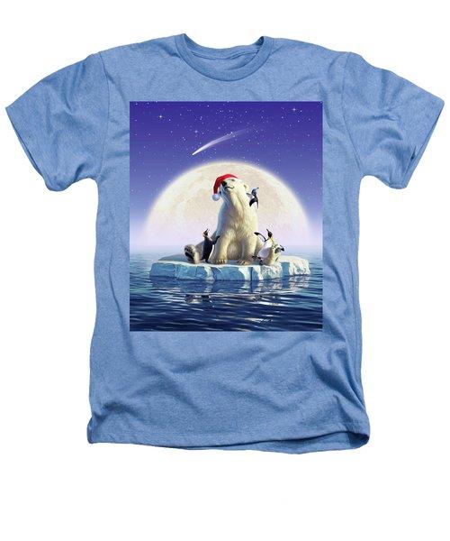 Polar Season Greetings Heathers T-Shirt