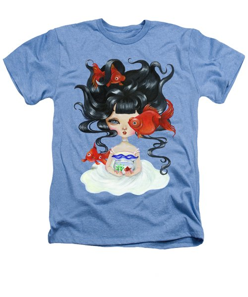 Pop-eyed Goldfish Heathers T-Shirt