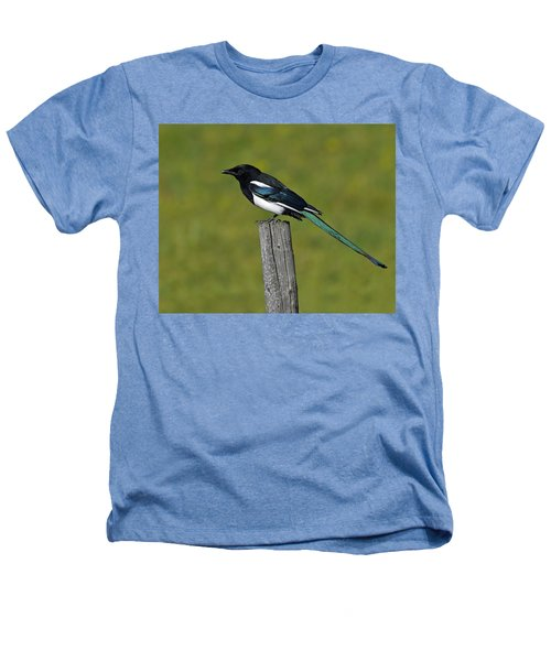 Prairie Perch Heathers T-Shirt by Tony Beck