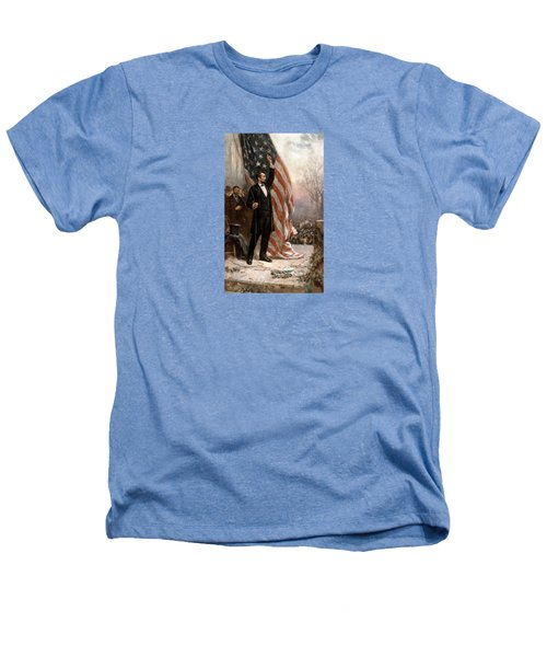 President Abraham Lincoln Giving A Speech Heathers T-Shirt