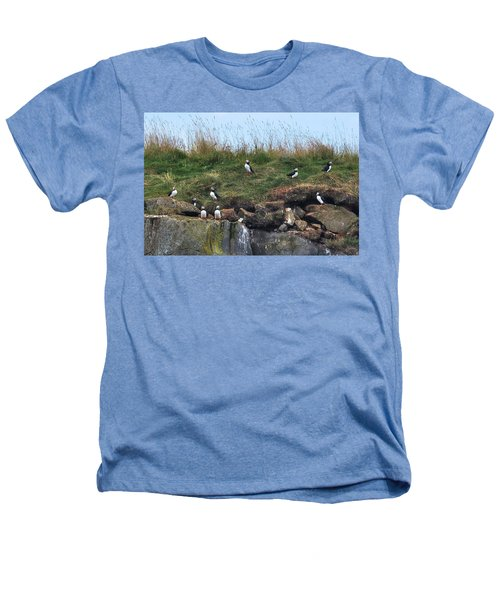 Puffins In Iceland Heathers T-Shirt