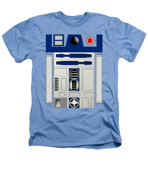 R2d2 Heathers T-Shirt by Janis Marika