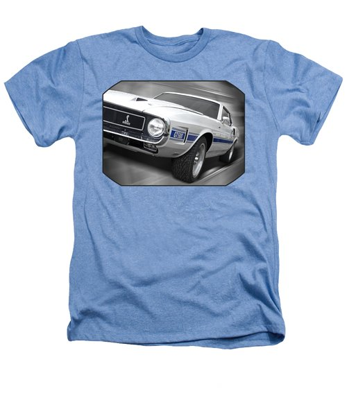 Rain Won't Spoil My Fun - 1969 Shelby Gt500 Mustang Heathers T-Shirt by Gill Billington