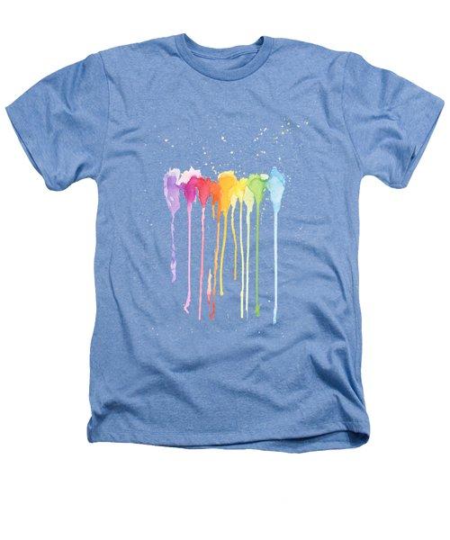 Rainbow Color Heathers T-Shirt