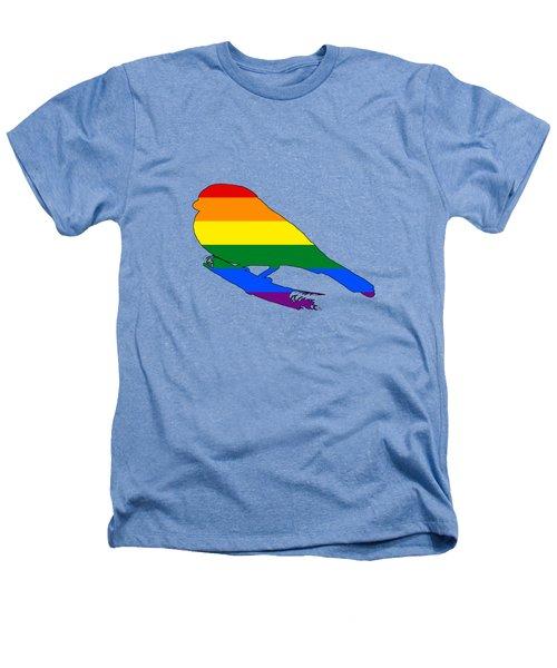 Rainbow Finch Heathers T-Shirt