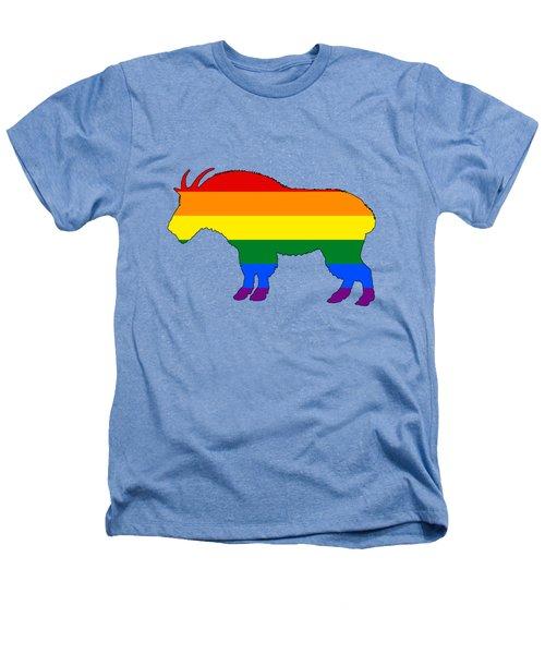 Rainbow Mountain Goat Heathers T-Shirt