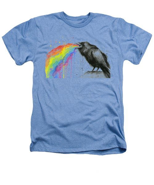 Raven Tastes The Rainbow Heathers T-Shirt