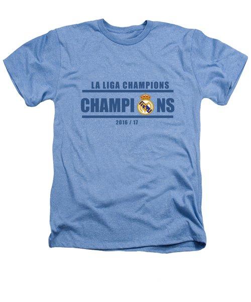 Real Madrid La Liga Champions  Heathers T-Shirt by Ipoy Juki