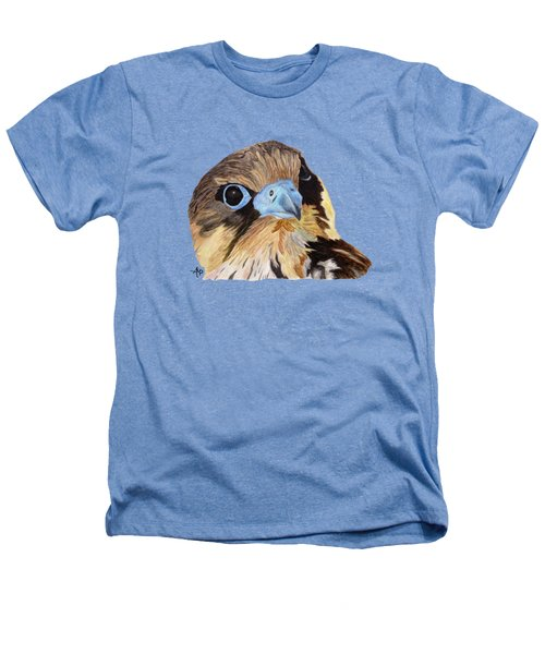Red-tailed Hawk Portrait Heathers T-Shirt