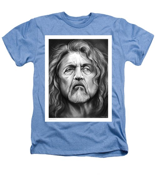 Robert Plant Heathers T-Shirt by Greg Joens