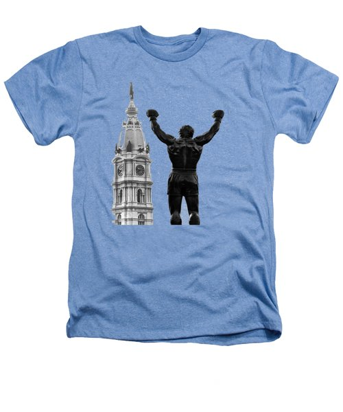 Rocky - Philly's Champ Heathers T-Shirt by Bill Cannon