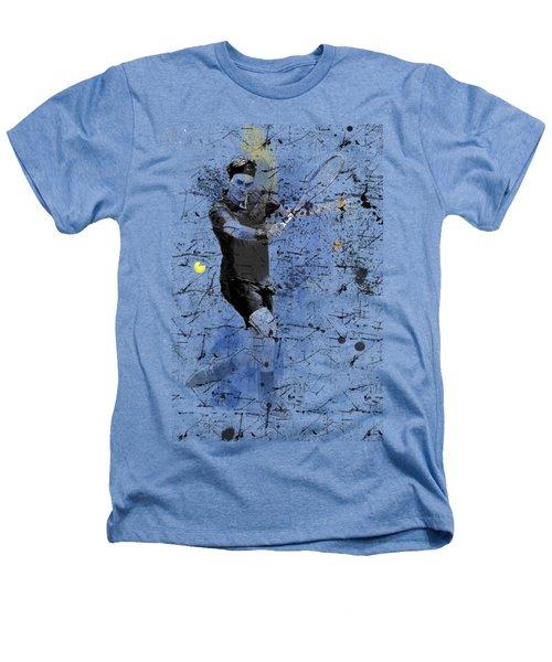 Roger Federer Heathers T-Shirt by Marlene Watson