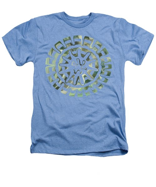 Round About Green Heathers T-Shirt