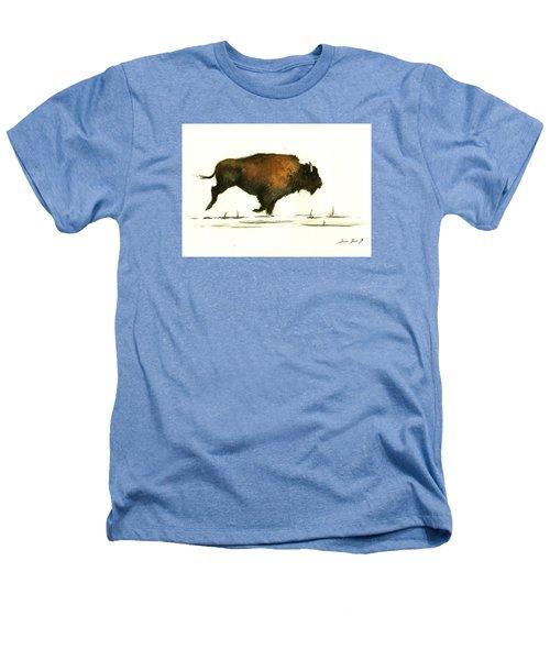 Running Buffalo Heathers T-Shirt