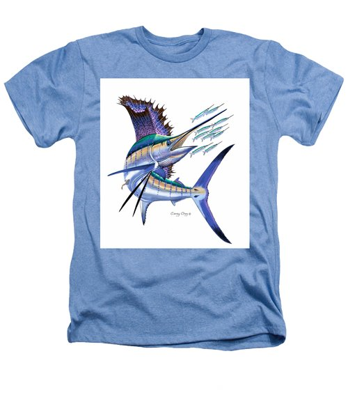 Sailfish Digital Heathers T-Shirt by Carey Chen