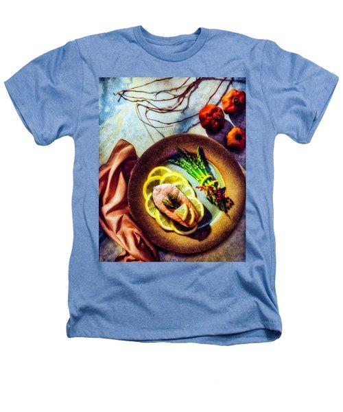 Salmon Dinner Heathers T-Shirt