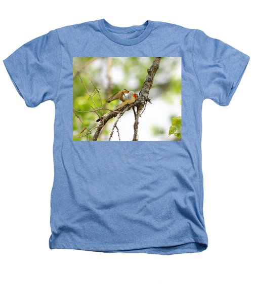 Scissortail Ballet Heathers T-Shirt by Robert Frederick