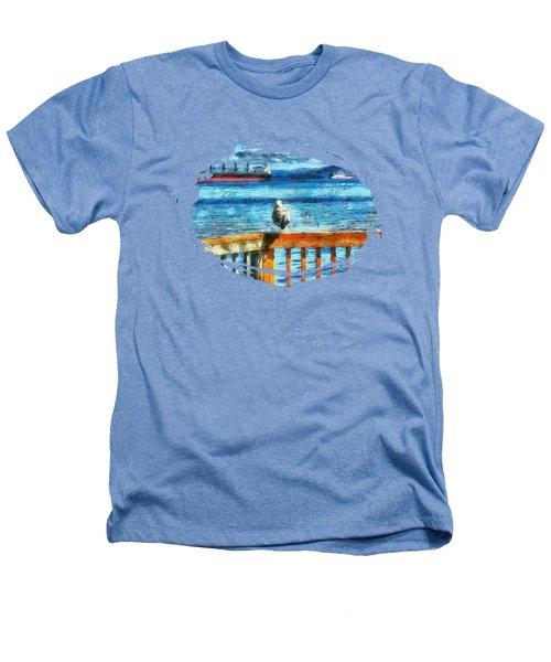 Seagull In Astoria  Heathers T-Shirt by Thom Zehrfeld