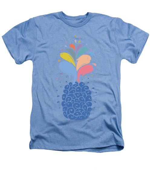 Seapple Heathers T-Shirt by Mustafa Akgul