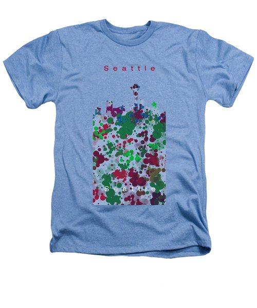Seattle Skyline .3 Heathers T-Shirt
