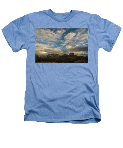 Sedona Arizona Redrock Country Landscape Fx1 Heathers T-Shirt