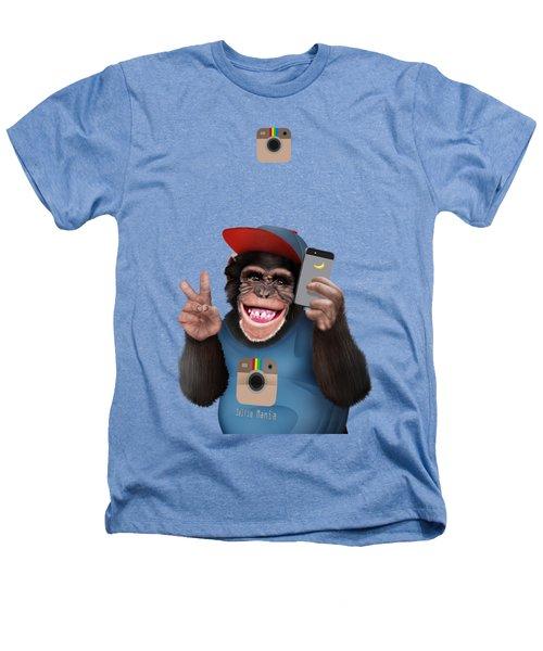 Selfi Chimpanzee Heathers T-Shirt