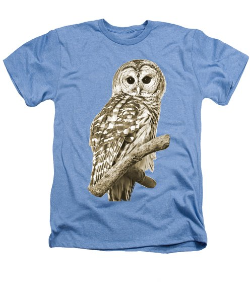 Sepia Owl Heathers T-Shirt