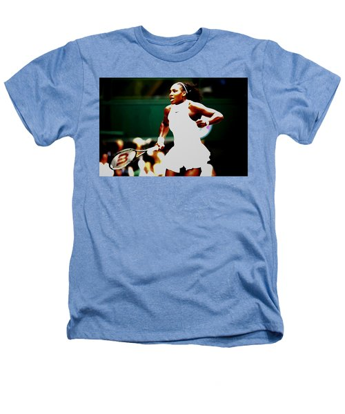Serena Williams Making History Heathers T-Shirt by Brian Reaves