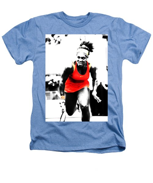 Serena Williams Go Get It Heathers T-Shirt