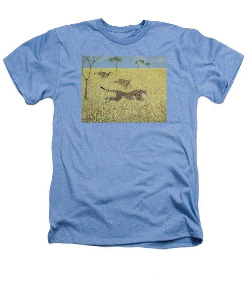 Sheer Speed Heathers T-Shirt by Pat Scott