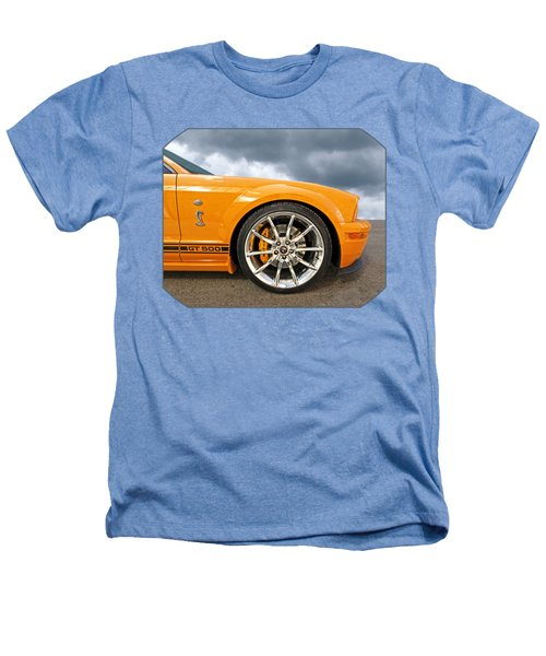 Shelby Gt500 Wheel Heathers T-Shirt by Gill Billington