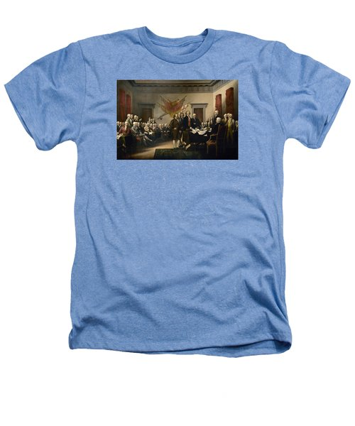 Signing The Declaration Of Independence Heathers T-Shirt by War Is Hell Store