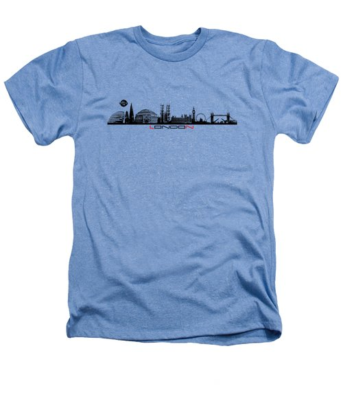 skyline city London black Heathers T-Shirt by Justyna JBJart