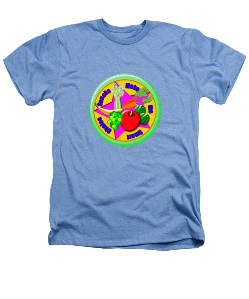 Smart Snacks Heathers T-Shirt by Linda Lindall