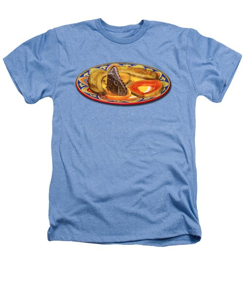 Snacking Butterfly Heathers T-Shirt