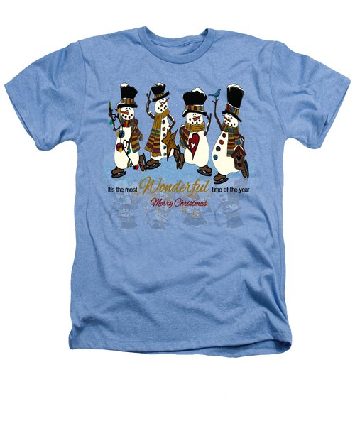 Snow Play Heathers T-Shirt by Tami Dalton