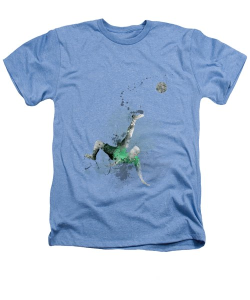 Soccer Player Heathers T-Shirt by Marlene Watson