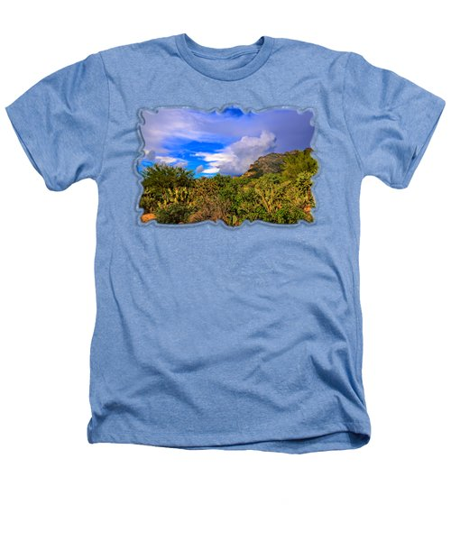 Sonoran Afternoon H11 Heathers T-Shirt by Mark Myhaver