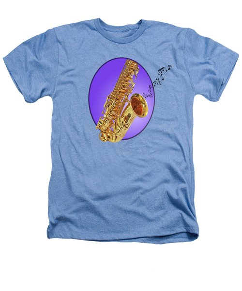 Sounds Of The Sax In Purple Heathers T-Shirt