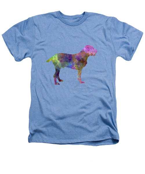 Spinone In Watercolor Heathers T-Shirt by Pablo Romero
