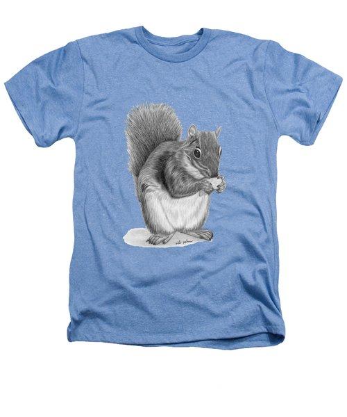 Squirrel #2 Heathers T-Shirt by Rita Palmer