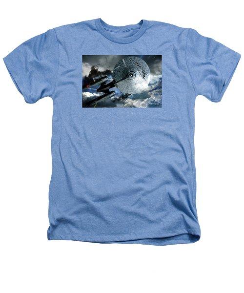Star Trek Into Darkness, Original Mixed Media Heathers T-Shirt by Thomas Pollart