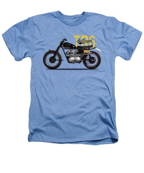Steve Mcqueen Desert Racer Heathers T-Shirt