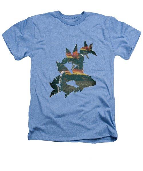 Strange Encounter Heathers T-Shirt by Katherine Smit