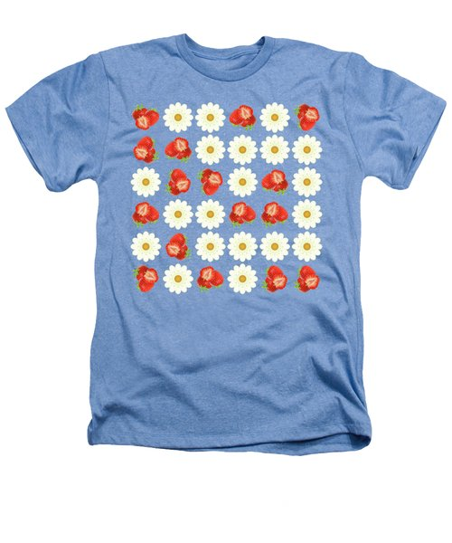 Strawberries And Daisies Heathers T-Shirt