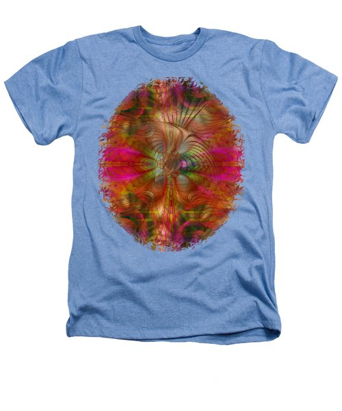 Strawberry Fields Abstract Heathers T-Shirt by Sharon and Renee Lozen
