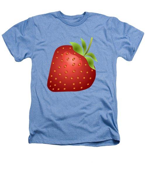 Strawberry Fruit Heathers T-Shirt by Miroslav Nemecek